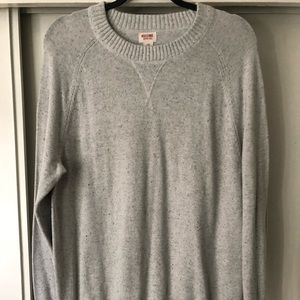 Mossimo-Speckled Neck Long Sleeve Sweater sz L